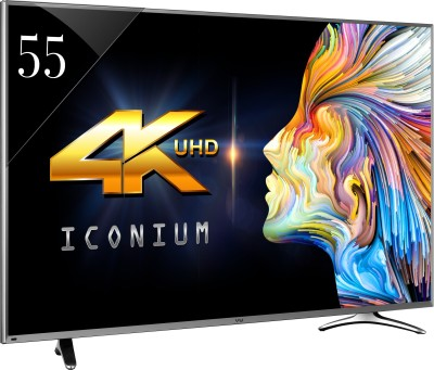 Vu 140cm (55) Ultra HD (4K) Smart LED TV (4 X HDMI, 3 X USB)