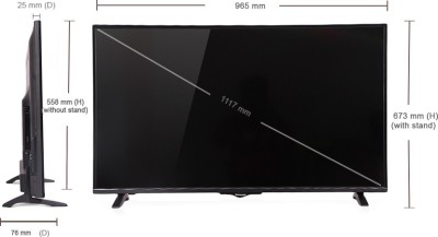 Panasonic 109cm (43) Full HD Smart LED TV (3 X HDMI, 2 X USB)