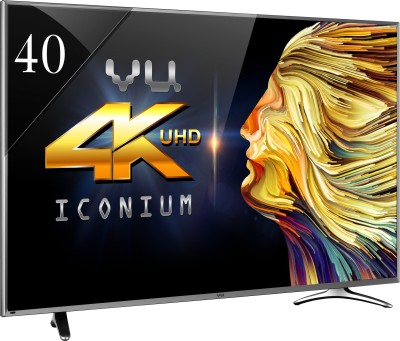 Vu 102cm (40) Ultra HD (4K) Smart LED TV (4 X HDMI, 3 X USB)