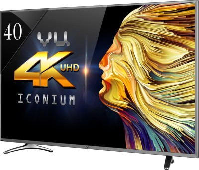 Vu 102cm (40) Ultra HD (4K) Smart LED TV (4 X HDMI, 3 X USB)