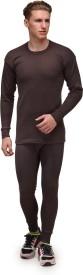 Alfa Lava Round Neck Men's Top - Pyjama Set