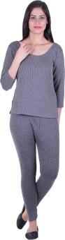 Fashion Line Thermal Women's Top - Pyjama Set - TMLEAPEAUE3TAWMY