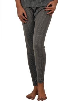 Lux Inferno Charcoal Melange Trousers Women's Pyjama