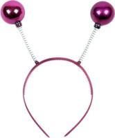 Funcart Pink Disco Ball Head Boppers Crown & Tiara (Purple, Pack Of 1)