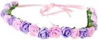 Loops N Knots Tiara Crown & Tiara (Pink, Purple, Pack Of 1)