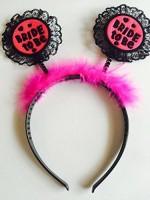 Funcart Net Bride To Be Hair Band Crown & Tiara (Pink, Pack Of 1)