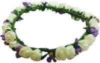 Loops N Knots Crown & Tiara (White, Purple, Pack Of 1)