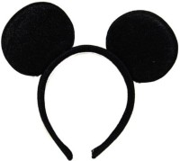Theme My Party Micky Band Tiara (Black, Pack Of 1)