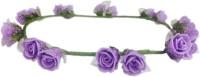 Loops N Knots Crown & Tiara (Purple, Pack Of 1)