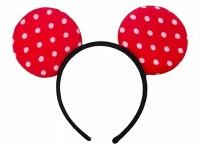 Funcart Red Minnie Ears Headband Crown & Tiara (Red, Pack Of 1)