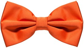 Civil Outfitters Orange Bow Solid Men's Tie