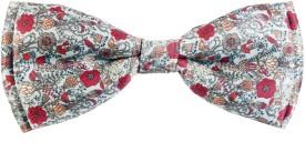 Blacksmith Intricate Floraldesign Bow Floral Print Men's Tie