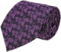 Louis Philippe Floral Print Men's Tie