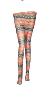 Vgstore Printed Women's Ankle Length Tights