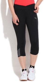 Puma Solid Women's Knee Length Tight