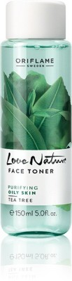Oriflame Sweden Toners Oriflame Sweden Love Nature Face Toner Tea Tree