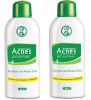 Acnes Soothing Toner - Pack Of 2 ( 90 Ml Each) (180 Ml)