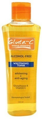 Gluta-C Intense Whitening Toner With Glutathione & Vitamin C (100 Ml)