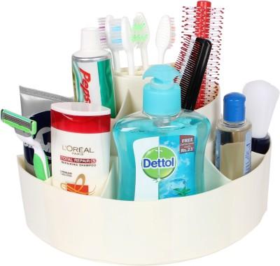 CIPLA Plast Bathroom Cosmetics Holder Stand Plastic Toothbrush Holder Wall Mount