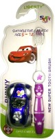Cp Bigbasket Toothbrush For Kids With Free Car(Blue) Toy (Multi)