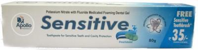 Apollo Pharmacy Baby Toothpastes Apollo Pharmacy Sensitive Freshmint Toothpaste Toothpaste