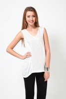 Rena Love Casual Sleeveless Solid Women's Top