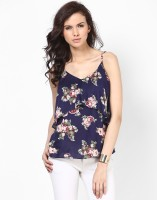 Besiva Casual Sleeveless Floral Print Women's Top
