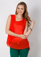Soie Casual Solid Women's Top