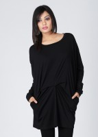Avirate Casual Full Sleeve Solid Women's Top