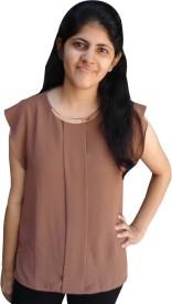 Shubh Sai Formal Short Sleeve Floral Print Girl's White Top