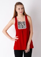 Omra Casual Sleeveless Printed Women's Top