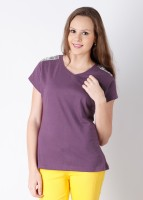 Tantra Casual Short Sleeve Solid Women's Top