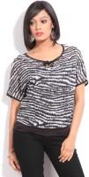 Riot Casual Short Sleeve Animal Print Women's Top - TOPDWPWYGZEQSSZ7