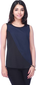 Eliza Donatein Casual Sleeveless Solid Women's Top Casual Sleeveless Solid Women's Top