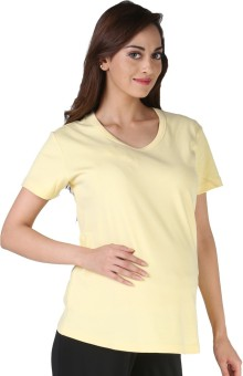 Morph Maternity Casual Short Sleeve Solid Women's Top - TOPE7999GPQ7YCSR