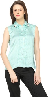Globus Casual Sleeveless Printed Women Top