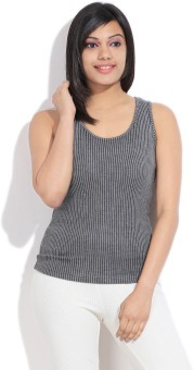 Femella Casual Sleeveless Striped Women's Top