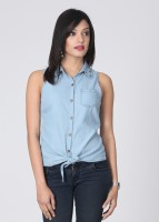 Hot Berries Casual Sleeveless Solid Women's Top