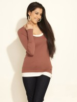 s.Oliver Casual Solid Women's Top