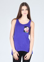 Alibi Party Sleeveless Solid Women's Top