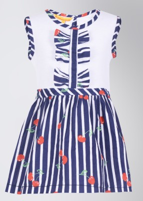 Buy UFO Casual Sleeveless Striped Girl's Top: Top