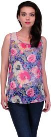Karyn Casual Sleeveless Printed Women's Top