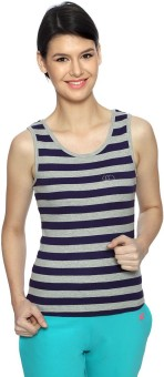 Ajile By Pantaloons Casual Sleeveless Striped Women's Top