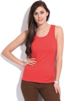 Style Quotient By Noi Casual Sleeveless Solid Women's Top - TOPDZZNG6KMDWCA8