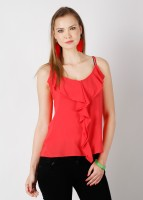 Tonga Casual Sleeveless Solid Women's Top