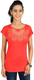 Stop To Start Casual Short Sleeve Printed Women's Top - TOPE6XZCG6YFSP6E