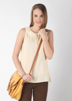 Mineral Casual Sleeveless Solid Women's Top