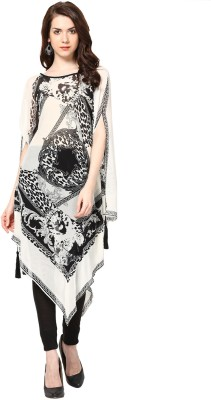 Taurus Formal Short Sleeve Printed Womens Top