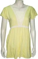 Cherish Casual Short Sleeve Solid Women's Top