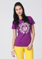 UV&W Casual Short Sleeve Printed Women's Top